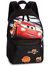Preisvergleich für Disney - Kinder Rucksack - Disney - Cars - Lightning Mc Queen - mit Hauptfach - Fronttasche