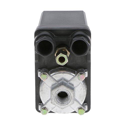 H HILABEE Valvola Di Controllo Del Pressostato Del Compressore D\'aria A Singola Porta Trifase SG-4A