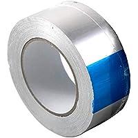 Klimapartner AKB 50 - Cinta adhesiva de aluminio 50mm x 45 m