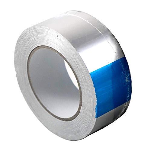 Klimapartner AKB 75 - Cinta adhesiva de aluminio 75mm x 45m