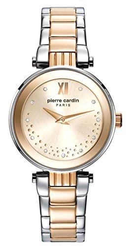 Pierre Cardin Reloj Analogico para Mujer de Cuarzo con Correa en Acero Inoxidable PC108062F07