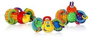 Nuby Looney Loops Teether Toy (Multi-Coloured)