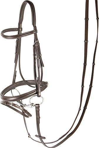 Harry\'s Horse 28002100-03pony Trense Luxe, kombiniert - Pony, S, braun