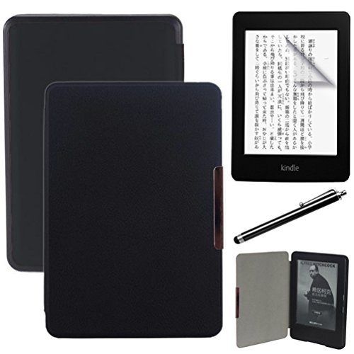 kindle-2014-7-gen-carcasanegro-ultra-thin-slim-proteccion-funda-de-cuero-flip-case-smart-case-cover-