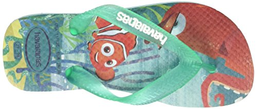 Havaianas Nemo & Dory, Sandales Mixte Enfant Multicolore (Ice Blue 0642)