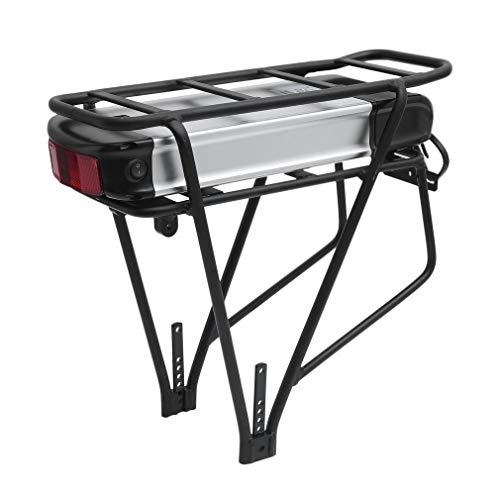 SWEEPID S015-2 48V 15AH 720WH Li-Ion E-Bike Akku Pack Pedelec Elektrofahrrad Batterien mit Gepäckträger Elektrofahrrad Umbausatz Rahmenakku Trinkflaschenakku