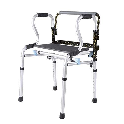 DOSNVG - Bastón para Ancianos con Andador Sentado