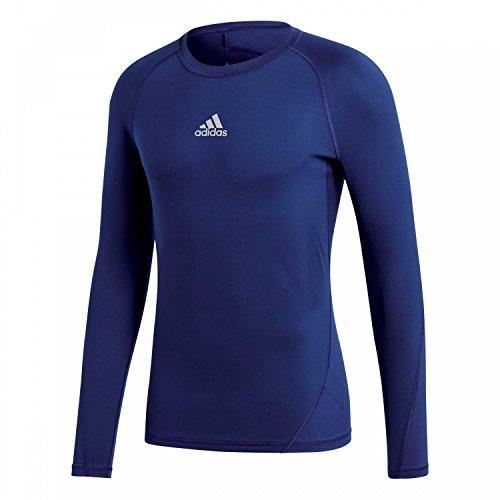 adidas Kinder Alphaskin Longsleeve Funktions Shirt, Dark Blue, 152