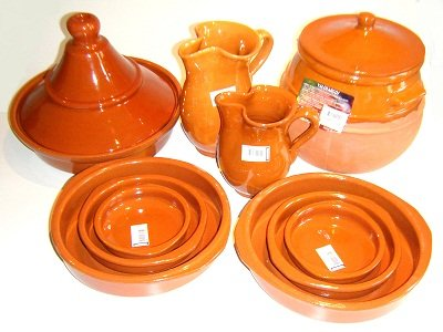 Terracotta Cooking Set Tagine Puchero Tapas Sangria Jugs