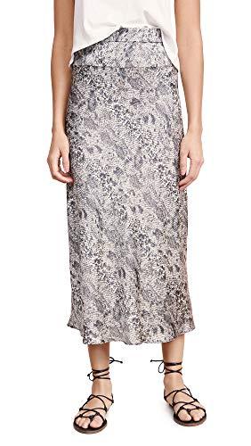 Free People Women's Normani Bias Printed Skirt -
