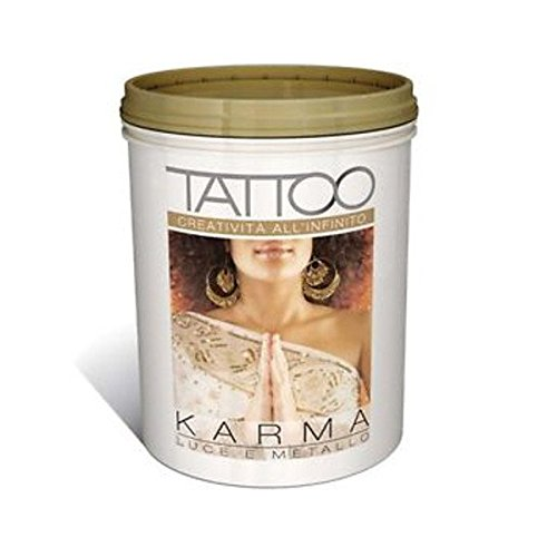 Jcolors vip tattoo karma lt.1 oro decorativo sabbiato metallizzato perlescente