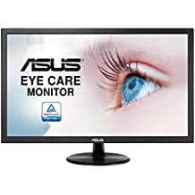 "Asus VP228DE - Monitor 21.5"" Full HD (1920 x 1080 píxeles, LCD, 5ms, contraste 100000000:1, 200 cd/m²), color negro"