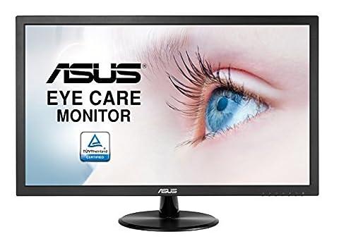 """ASUS VP228DE 21.5"""" Full HD Mat Noir écran plat de PC - écrans plats de PC (1920 x 1080 pixels, Full HD, Mat, 1920 x 1080 (HD 1080), 100000000:1, 16,78 millions de couleurs)"""