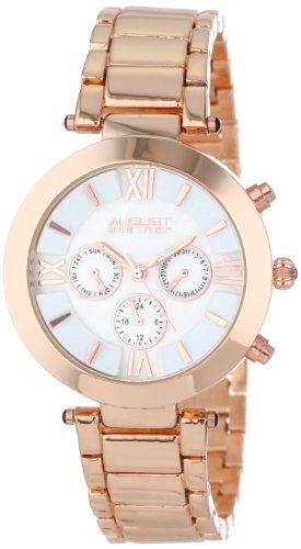 August Steiner Mujer Paso Dial reloj de pulsera multifunción