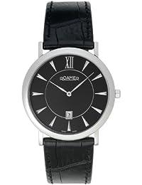 Roamer Herren-Armbanduhr XL Limelight Analog Leder 934856 Sl2