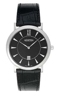 Roamer Men's Quartz Watch LIMELIGHT 934856 SL2 with Leather Strap