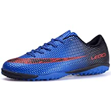 a3f2a430267 Mengxx Chaussures de Football Unisexes Chaussures D Entraînement Pour  Adolescents Chaussures de Football en Plein