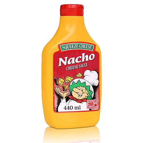 Nacho Käse squeeze 440ml mikrowellengeeignet