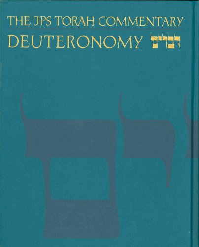 The JPS Torah Commentary: Deuteronomy Cover Image