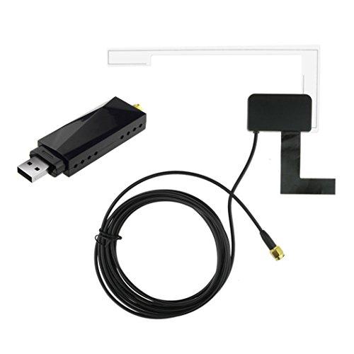 Fansport Fahrzeugtuner USB Digitalempfänger DAB Auto Radio Tuner Auto Tuner Kit für Android System