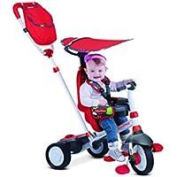 Neues Rot Smart Trike Charisma Kind Dreirad Baby Rutschfahrzeug Kinderwagen
