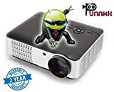 OOZE Punnkk and WiFi Full HD LED LCD Home Theater Projector, 3500 Lumen