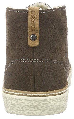 O'Neill Kali Suede, Baskets hautes femme Marron - Braun (D19 Dark Brown)