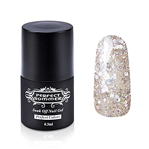 Perfect Summer Vernis à Ongles Gel UV Semi-Permanent Soak Off Nail Art French Manucure 6.5ml #229