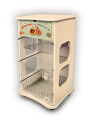 Mehrzweck-Küchenwagen Maßnahmen 40x 45Höhe 85cm Stil Vintage-Donuts
