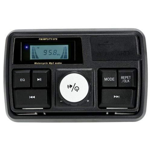 HaiMa Ykt-Ms002 Imperméable À l'eau Système Amplificateur Audio Set-Noir