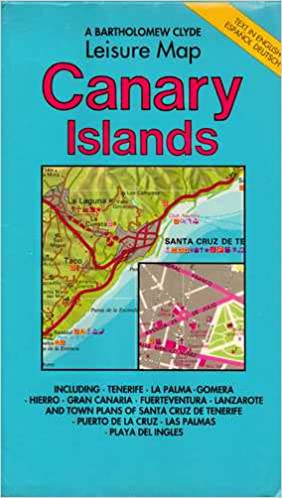 Canary Islands Leisure Map (Holiday maps): Amazon.co.uk: Clyde ... on