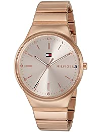 Tommy Hilfiger Analog Rose Gold Dial Women's Watch - TH1781799