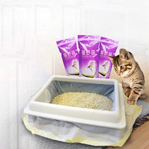 Katzenstreu Tasche Haustier Katze Reinigungsmittel Dick Und Widerstandsfähig Gegen Katzenstreu Spezielle Reinigungsbeutel (Tasche)