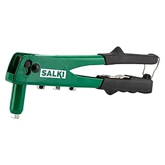 Salki 8500702.0 Remachadora Manual para Todo Tipo de Remaches, Verde