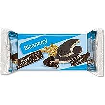 Bicentury - Tortitas Nackis - Arroz Integral Con Chocolate Negro - 4 x 32.6 g - [Pack de 7]