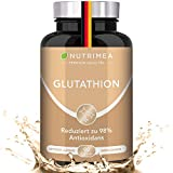L-GLUTATHION reduziert zu 98% - 90 Kapseln 3 Aminosäuren: Glycin, Cystein, Glutaminsäure