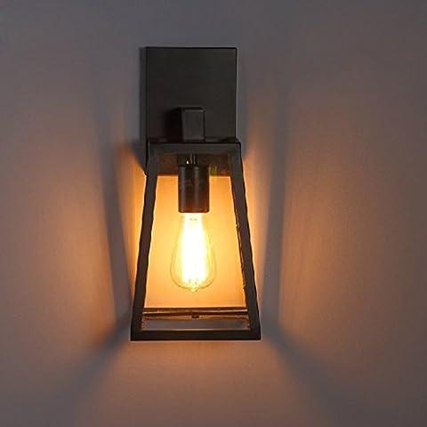 Retro flexible ajustable/Spot/Swing estilo industrial,lámpara de cristal LED Luz de techo Lámparas creativas Salón Dormitorio Casa Lámpara luces de pared Hotel Zhongshan, fuente de