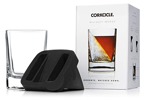 Whiskey Wedge - Whiskey Glass With Silicone Ice Mould from Corkcicle