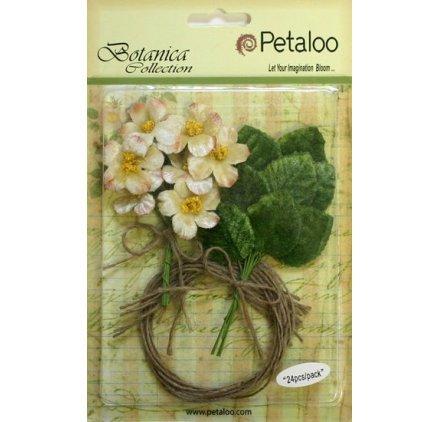 Blumen 'Petaloo' Botanica Collection 'Vintage Velvet Bulk Pack creme