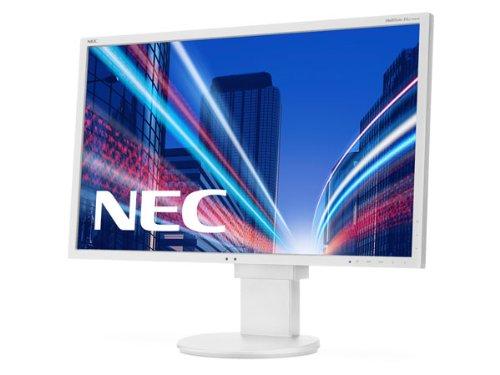 NEC MultiSync EA273WMi 68,58cm 27Zoll Wide 1920x1080 analog+digital DVI-D DP HDMI Speaker Has 1000:1 250cd 6ms Weiss Nec Display
