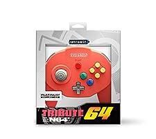 Retro-Bit Tribute 64 for Nintendo 64 - Red