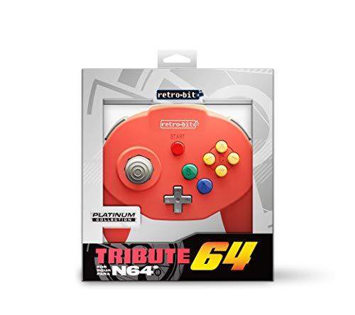 Produktbild Retro-Bit Tribute 64 for Nintendo 64 - Red