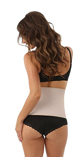 Belly Bandit Original Bauchbinde zur Unterstützung der Rückbildung Nude