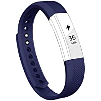 Vancle Bandes pour Fitbit Alta, Réglable Tracker Band de Remplacement Wristband pour Fitbit Alta Montre de Fitness(No Tracker)