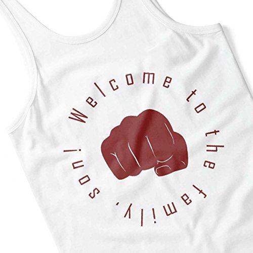 Welcome To The Family Son Resident Evil 7 Men's Vest White
