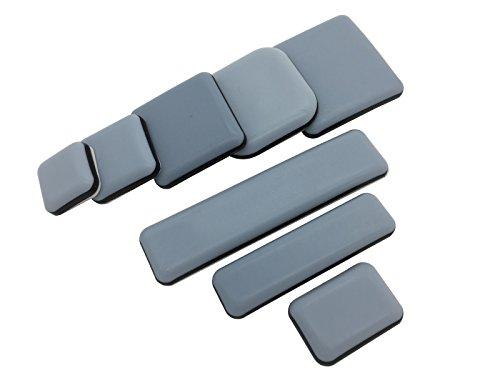 4 Stück Teflongleiter selbstklebend verschiende Größen auswählbar (24x100 mm) PTFE Gleiter Möbelgleiter