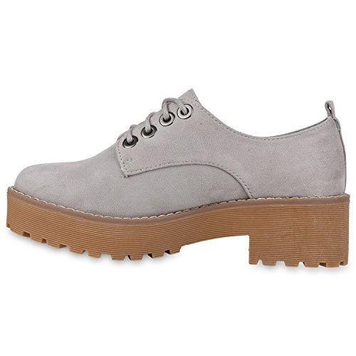 Brogues Vendas Cinza Mulheres Sapatos Camurça Baixo De Únicos Perfil Acender Em De Bloco qIIZwf8