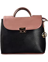 Shopclans Brown Color Handbag For Girls / Women's (SPC-058)
