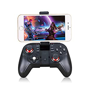 Vernwy Bluetooth Wireless Gamepad, Jedi Survival Gamepad for Bluetooth Connection In Andriod/Ios/Win 7/8/10 System