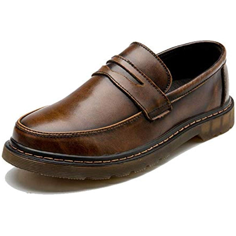2018 2018 2018 Chaussures mode Oxford pour hommes, Chaussures de vêteHommes ts de travail à pédales à bout rond avec bout rond... - B07KK559L8 - 80adeb